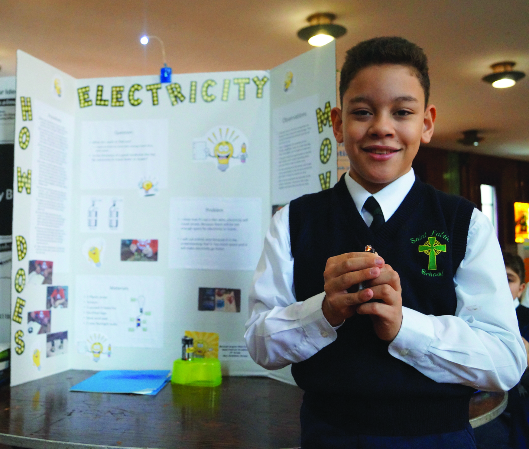Science fair at St. Pat's sparks fun and learning