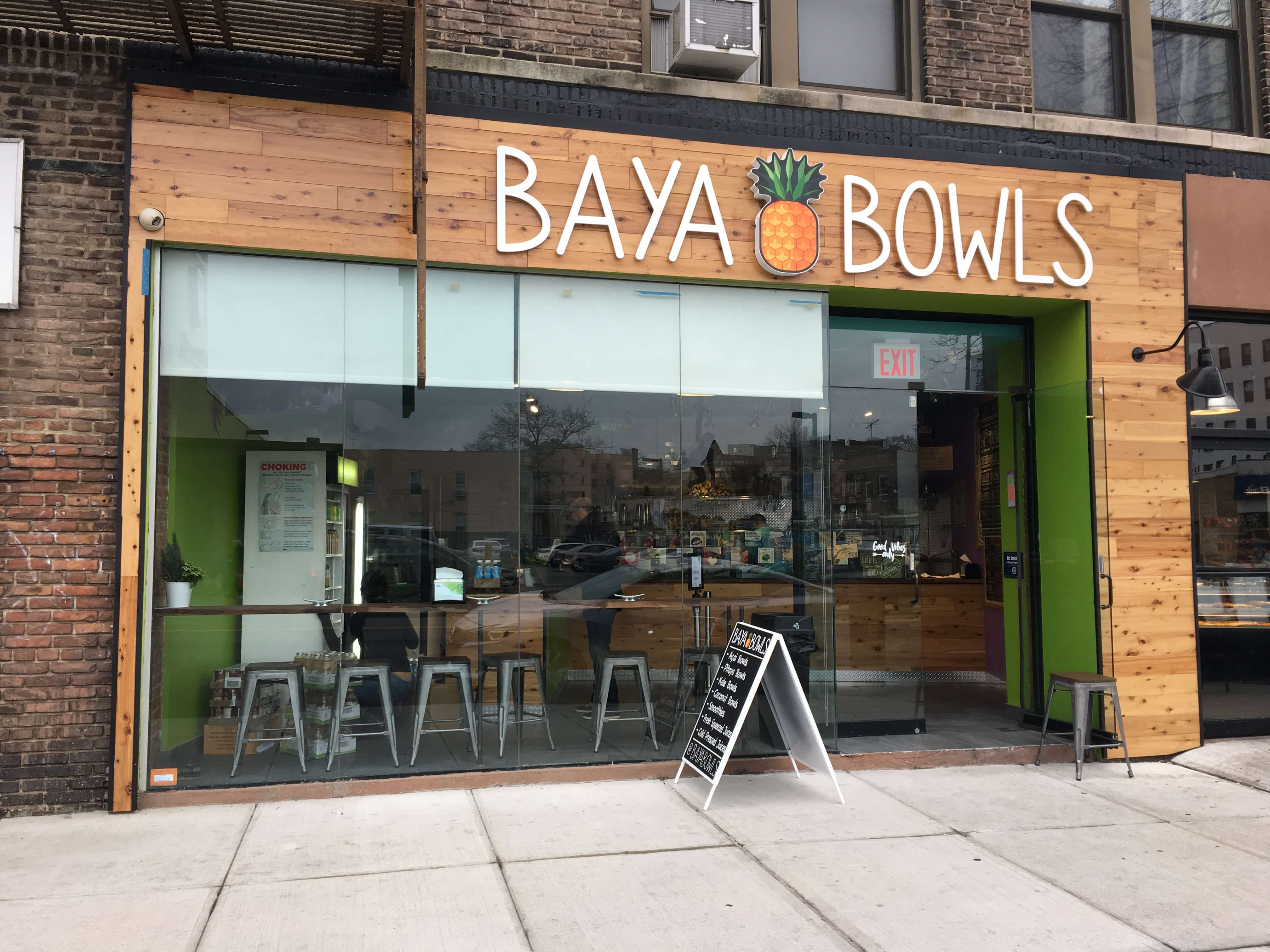Health food sweet spot Baya Bowls now open in Bay Ridge